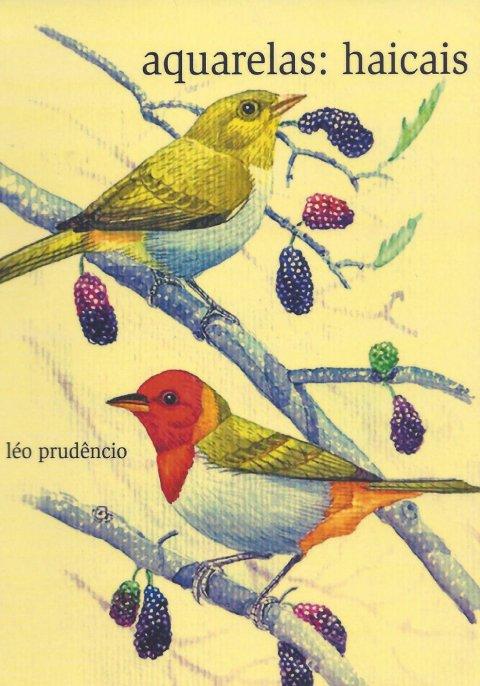 Capa de Aquarelas de Leo Prudencio